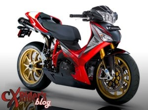referensi motor modifikasi supra x 125