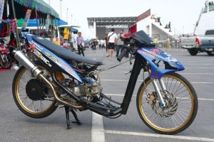 Gambar Modifikasi Motor Drag - Foto Modifikasi Motor Drag
