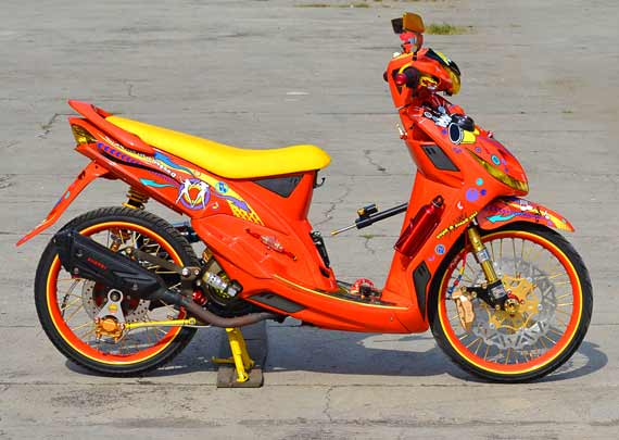 Go Back > Gallery For > Motor Modifikasi Mio