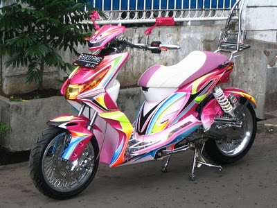foto modifikasi honda beat