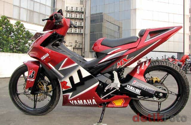 foto modifikasi jupiter mx