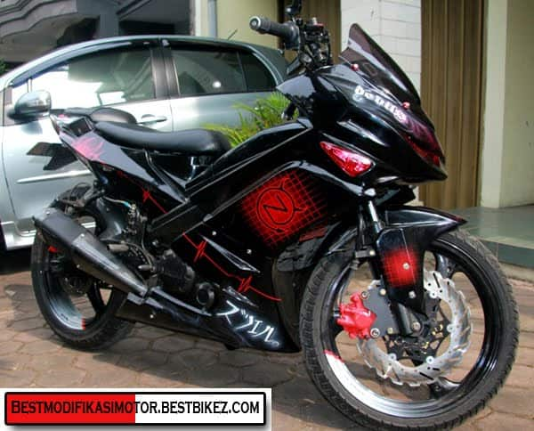 foto modifikasi motor yamaha jupiter mx