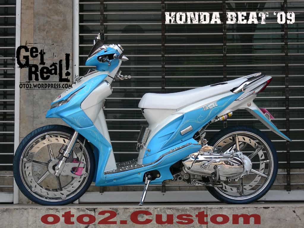 Gambar Modifikasi Honda Beat Foto Modifikasi Honda Beat Semisenacom