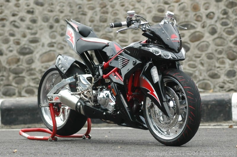 modifikasi yamaha jupiter mx