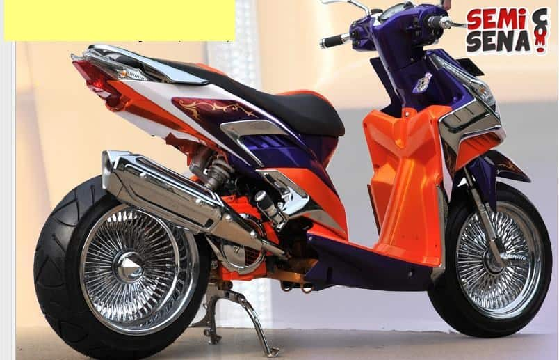 referensi modifikasi motor matic honda vario