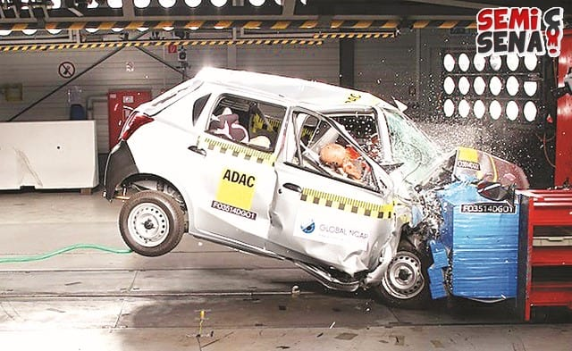 Mini Car Crash Test