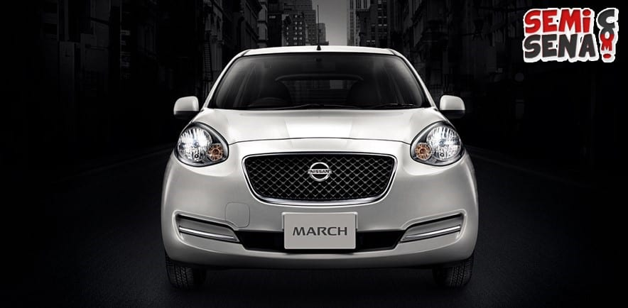 nissan march grill ala jaguar