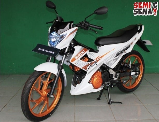 spesifikasi suzuki satria fu 150 white fighter