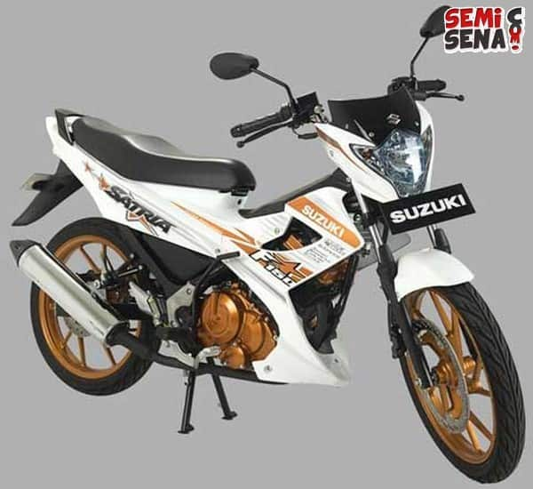 suzuki satria fu 150 white fighter