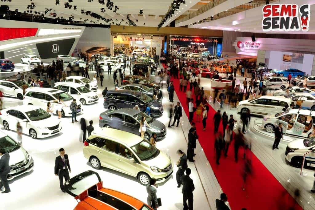 Persiapan Indonesia International Motor Show (IIMS) 2015