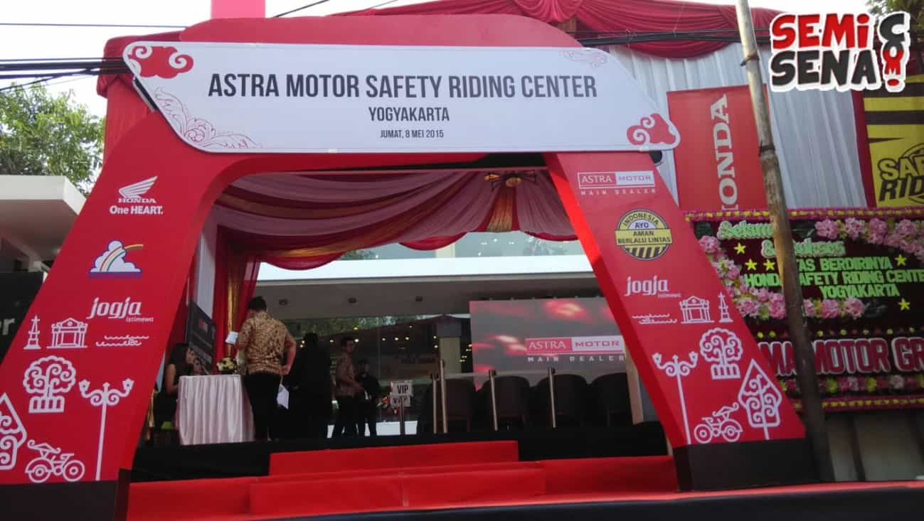 Astra Motor Resmikan Safety Riding Center Yogyakarta