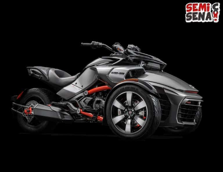 Can-Am Spyder F3 Laris Manis