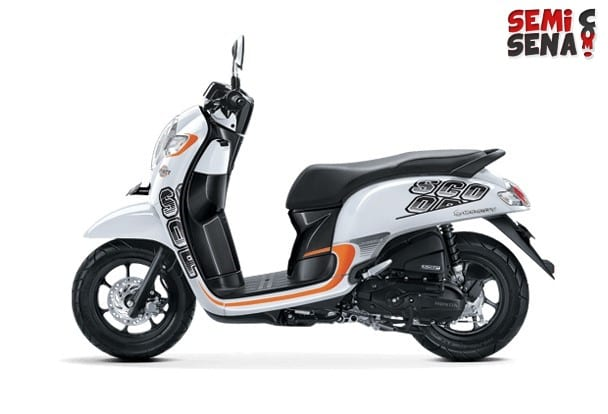 Review Honda Scoopy ESP