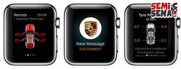 Siap-siap Ganti Remote Porsche Anda Dengan Apple Watch