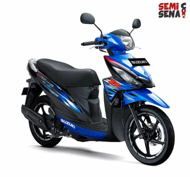 Suzuki Address Makin Sporty dengan Varian R Series Terbaru