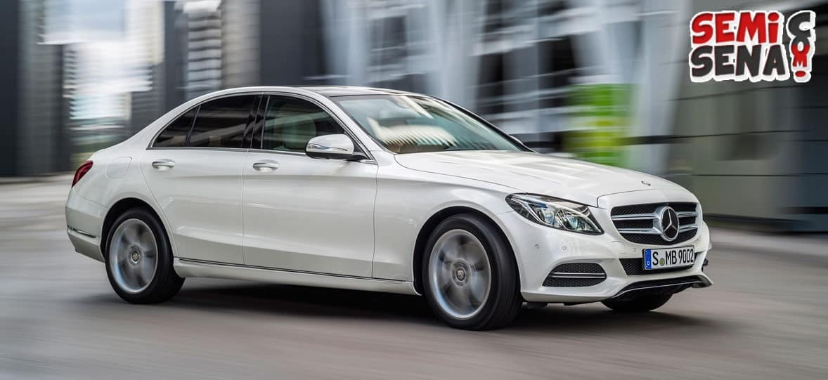 Mercedes Benz C-Class Paling Laku di Indonesia!!
