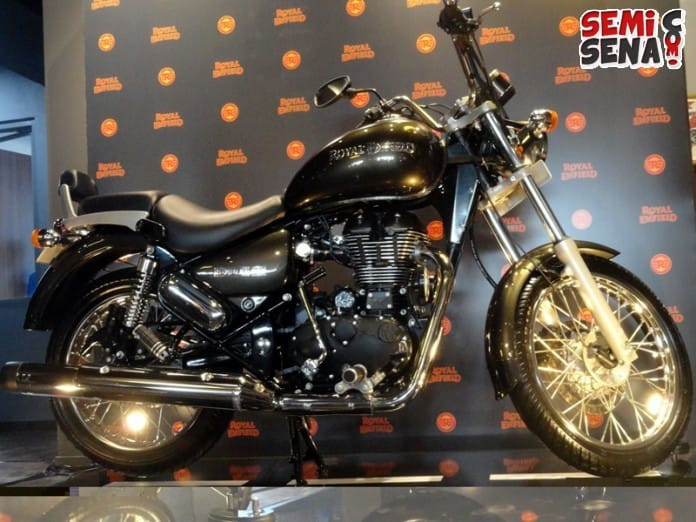 Royal Enfield Rumbler 500 Perdana Masuk Indonesia