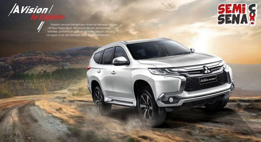 Wow, All New Pajero Sport Laris Manis Bak Kacang Goreng!!