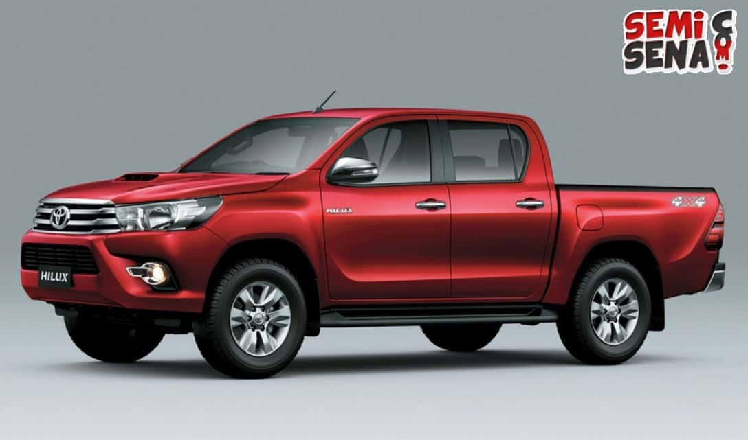 "All New Toyota Hilux, Si Pikap Bertampang ""Macho"""