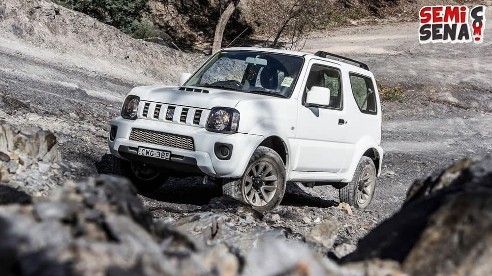 April 2016 Indonesia Kedatangan Suzuki Jimny Versi Baru