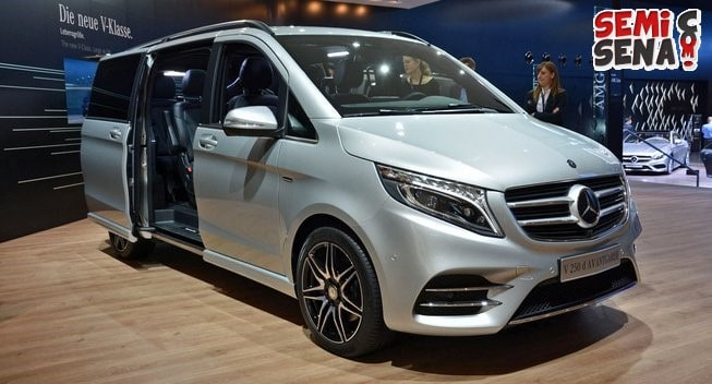 mercedes benz v class akhirnya menginjak indonesia. Black Bedroom Furniture Sets. Home Design Ideas