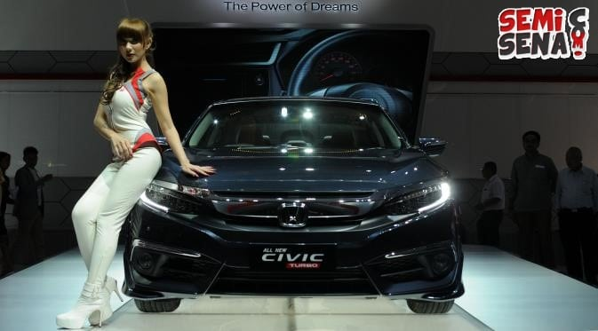 All New Honda Civic Turbo Raih Penghargaan di IIMS 2016