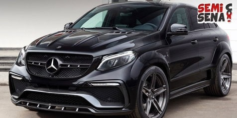 Mercedes-Benz GLE Coupe 'Inferno' Tampil Lebih Sporty