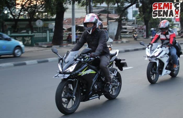 1.500 Bikers Indonesia Test Ride All New CBR 150R