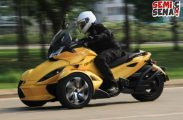Can-Am Spyder Jamin Penggunanya Makin Happy!