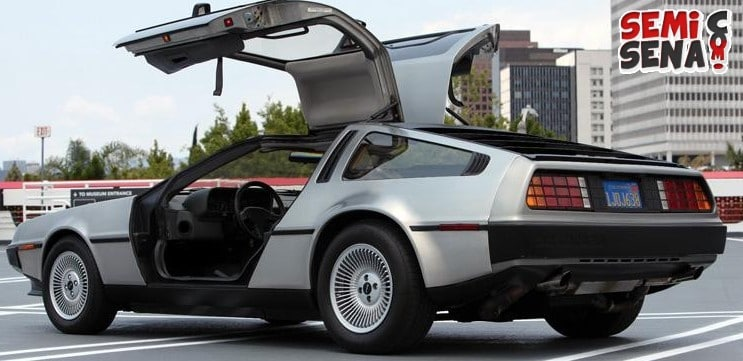 mobil back to the future muncul di california