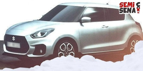 suzuki swift sport bakal mengusung mesin turbo
