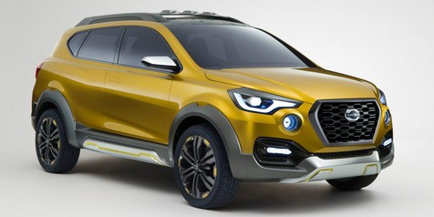 Debut Perdana Datsun GO-cross Concept di GIIAS
