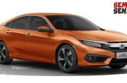 Honda China Rilis Civic 1.000 cc Turbo