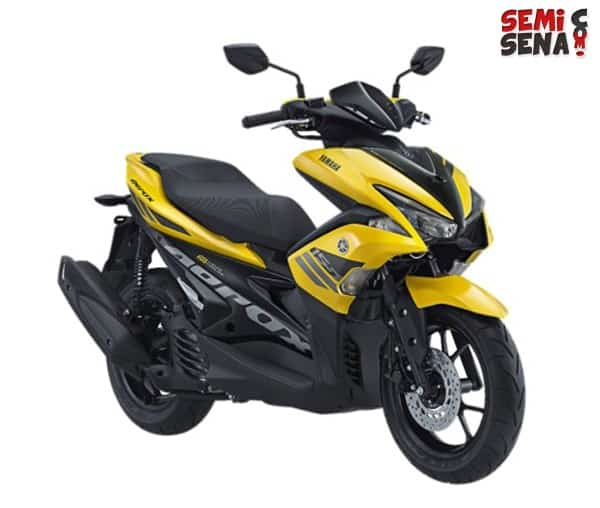 Review Yamaha Aerox 155