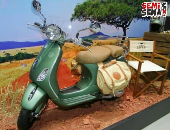 Piaggio Luncurkan Vespa Safari Limited Edition