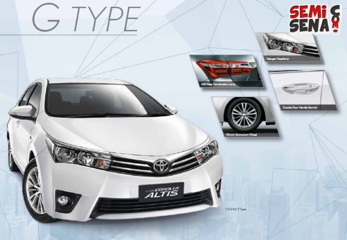 Review Toyota Corolla Altis