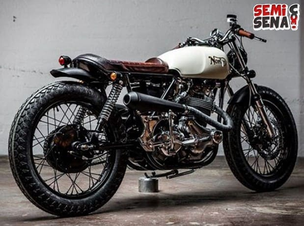 10 Modifikasi Motor Terbaik Norton 850 Commando Federal Motor