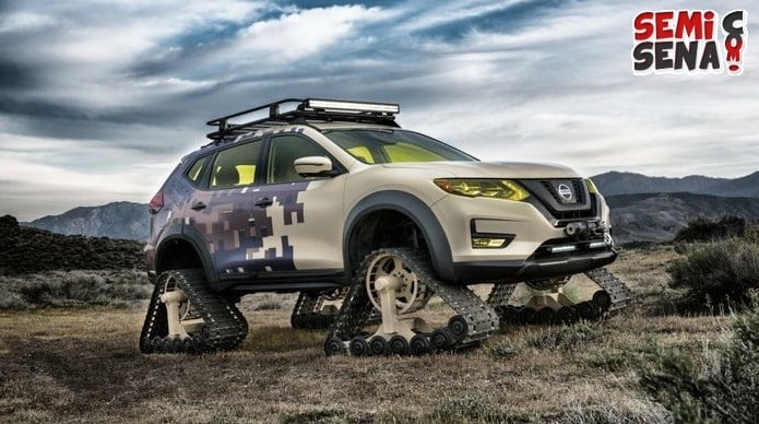 Nissan Rogue Trail Warrior Project Diperkenalkan