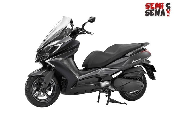 Review Kymco Downtown 250i