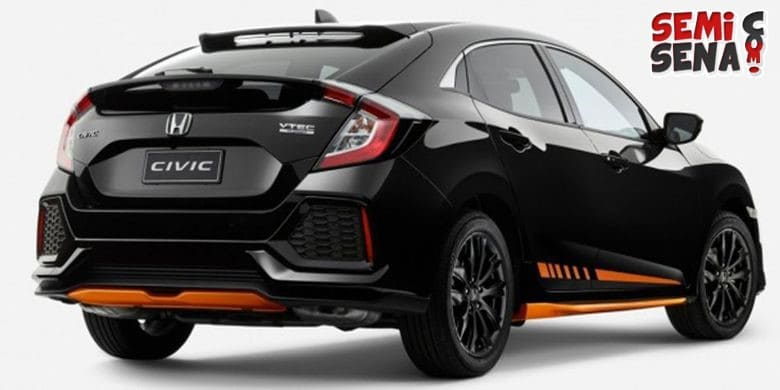 Honda Luncurkan Civic Hatchback Orange Edition