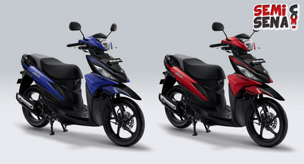 Spesifikasi Motor Suzuki Address Playful