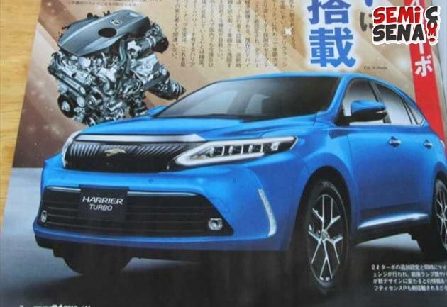 Toyota Harrier Facelift Usung Mesin Turbo?