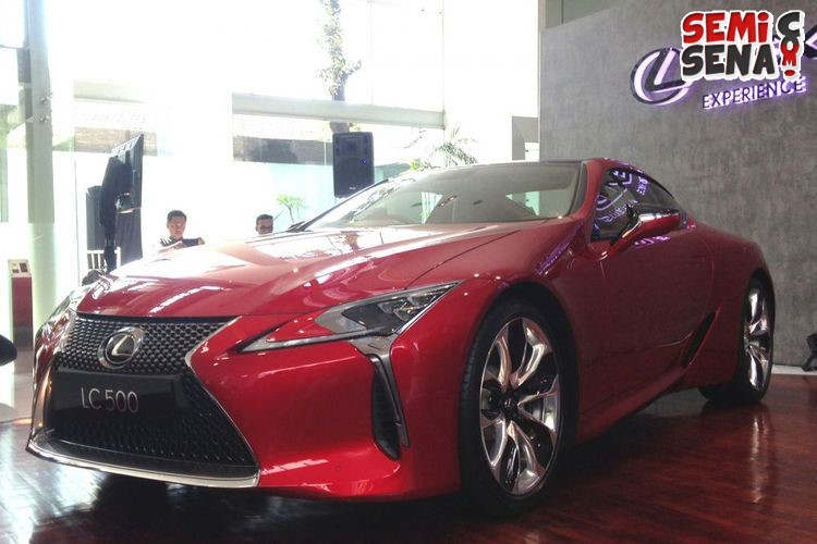 Lexus Lc500 Dijatah 10 Unit Di Indonesia
