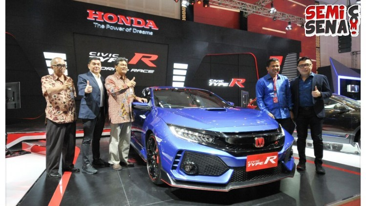 Warna Kelir Biru Pada Honda Civic Type R