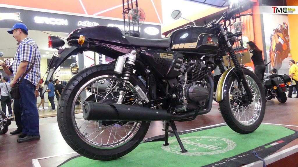 Review Benelli Motobi 152