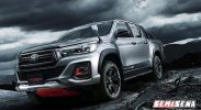Toyota Hilux Black Rally Edition Siap Dirilis