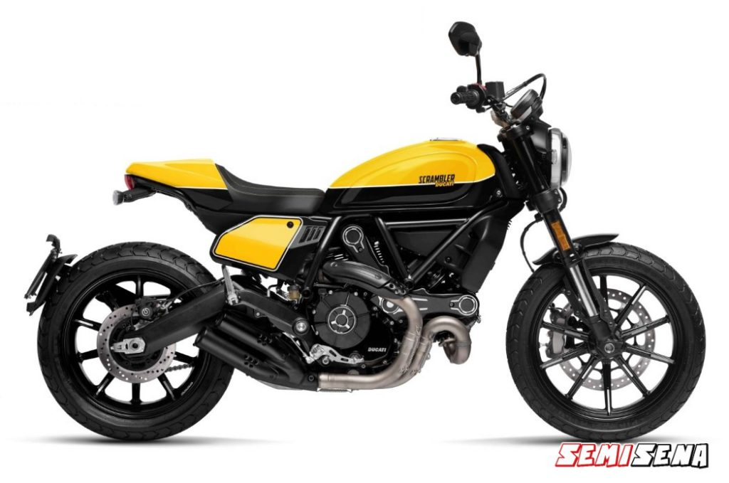 Spesifikasi Ducati Scrambler Full Throttle