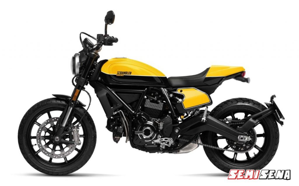 Spesifikasi Motor Ducati Scrambler Full Throttle