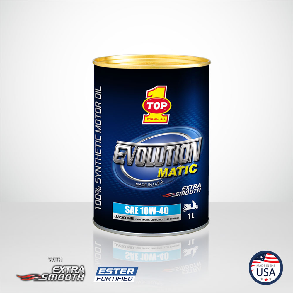 TOP 1 SMO EVOLUTION MATIC 10W 40