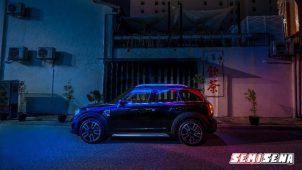 MINI Countryman Blackhealth Edition Resmi Hadir Di Tanah Air